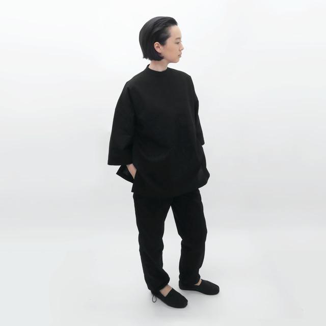 受注制/防水ナイロン/厚手キルティング/リバーシブル/パンツ/P-5