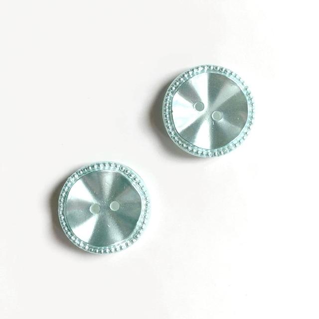 50'sウェーブパステルヴィンテージボタン