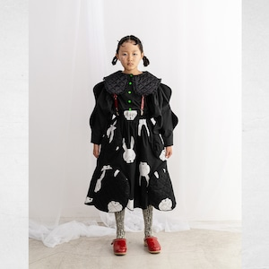 QUILTING SWITCHING SKIRT / M - L