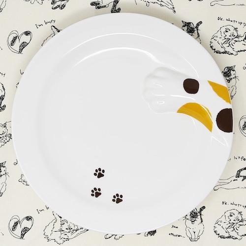 猫皿(どろぼうねこプレート)みけねこ