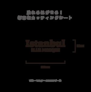 貼れる!はがせる!!都市名カッティングシート「Istanbul」