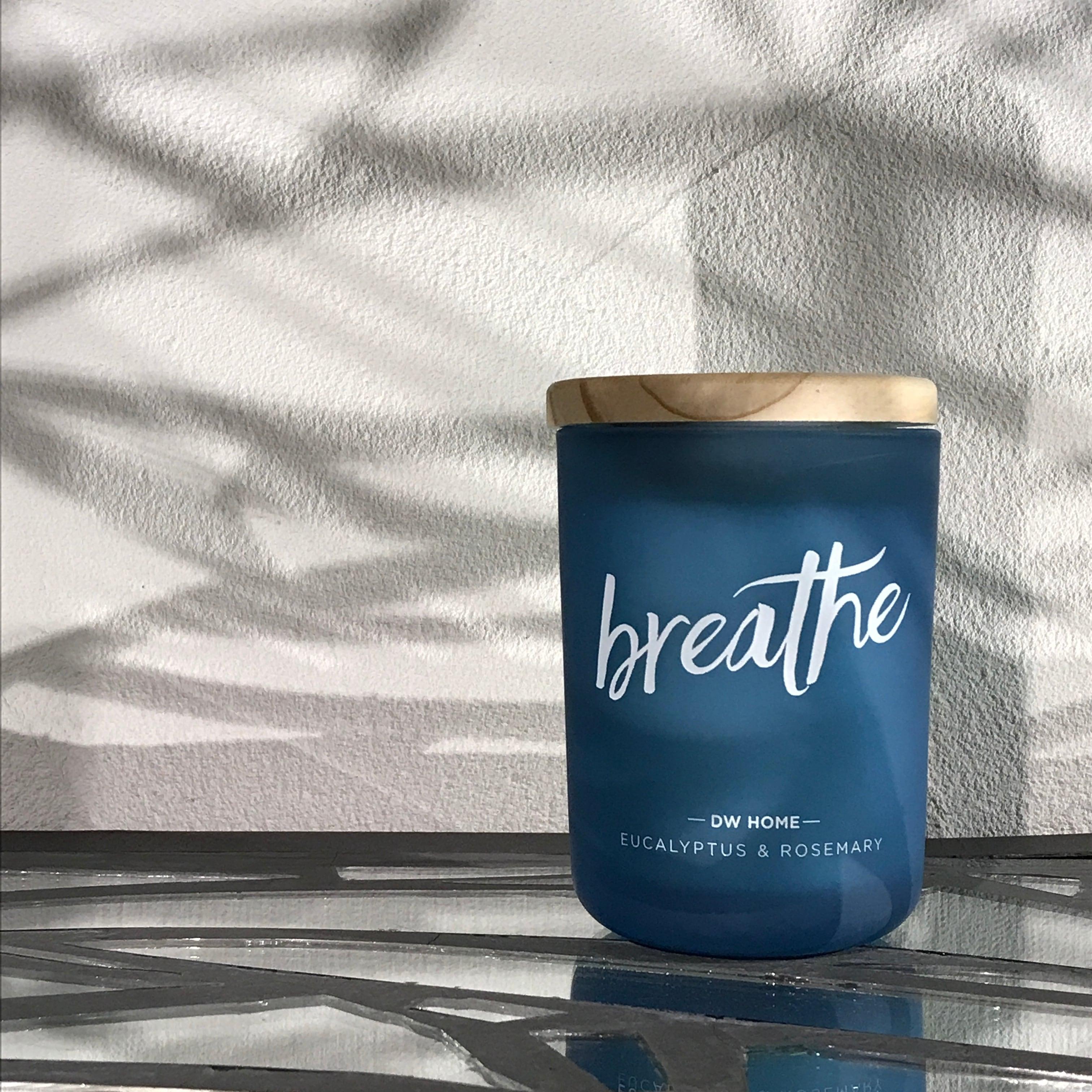 【DW Home Candles】breathe (EUCALYPTUS & ROSEMARY)