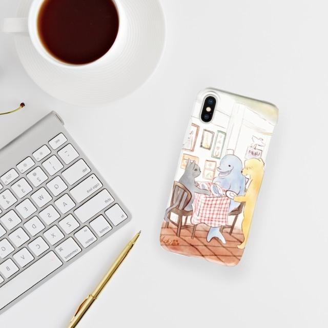 レストランiPhoneケース(表側面印刷)