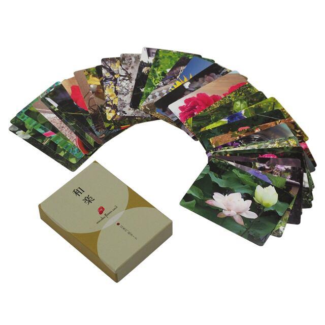 和楽フラワーエッセンス 花カード 「和」シリーズ 36枚セット