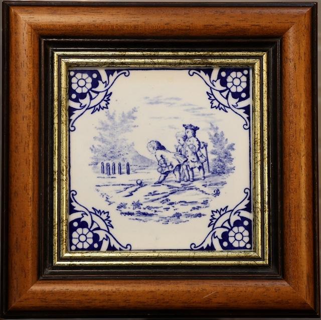 【英国アンティーク】MINTON社 タイ【1870年12月】] T-070