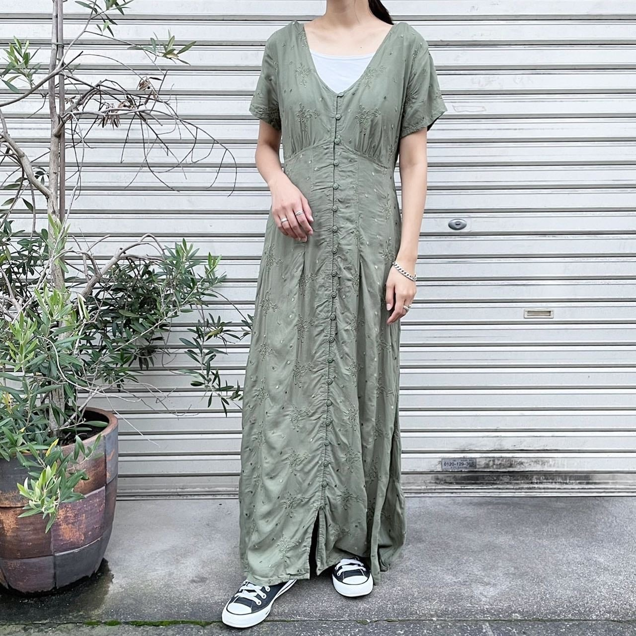 """USED """" ss onepiece / ショートスリーブワンピース """""""