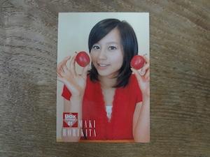 堀北真希 BOX特典カード No.BOX01 2007 BOMB
