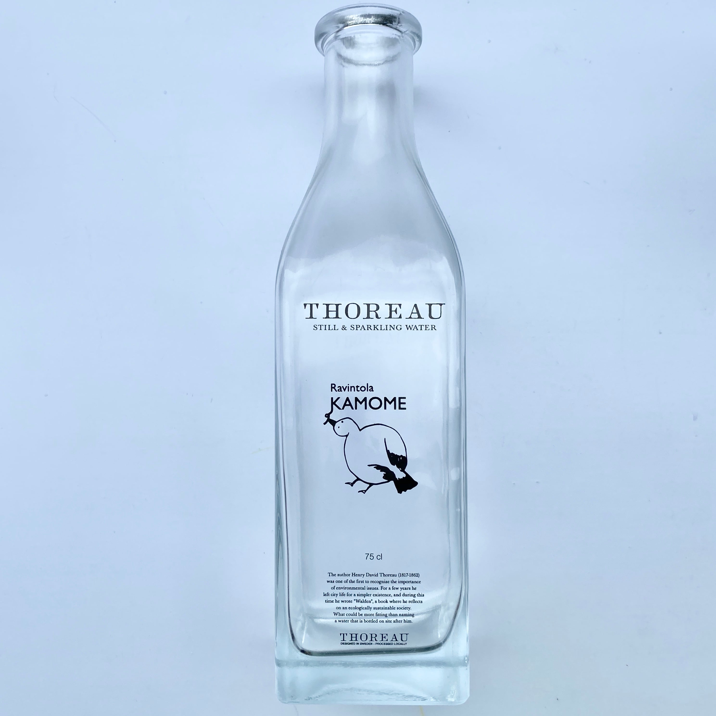 ガラスボトル(クリア)750ml