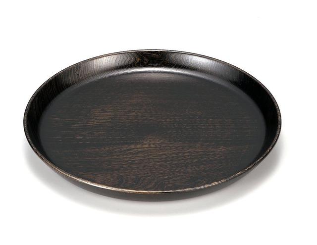 KE21-009 栓8.0丸盆 黒摺