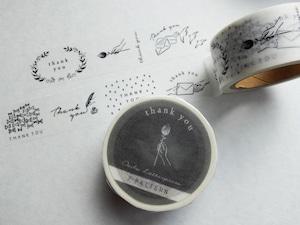 Masking tape【 7pattern thank you 】