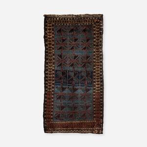 ヴィンテージ タイマニ族 / アイマク族 b(枕)バーリシト表 116×53cm TB-1879