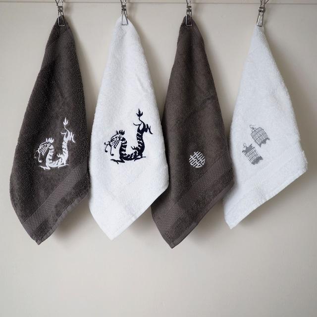 『刺繍のタオル/Sサイズ』Zest of ASIA/香港