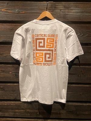 Critical Slide  TRIPOLI TEE  white  Lサイズ TE2044