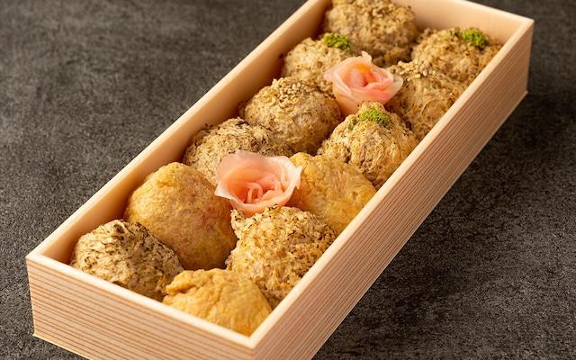 伊奈利寿司と特製伊奈利の詰め合わせ 1セット12個入り