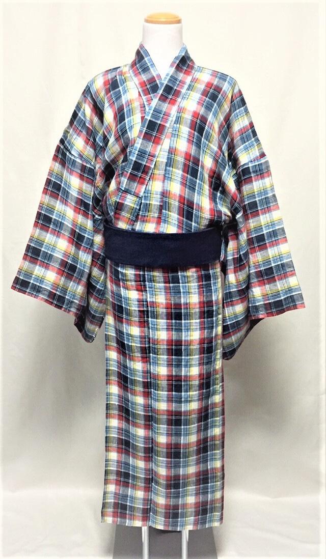オリジナル☆マドラスチェック浴衣 produced by MOTOKI MORINAGA