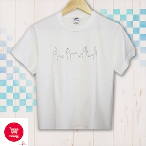 『カチャーシー : 祝白』 - Tシャツ