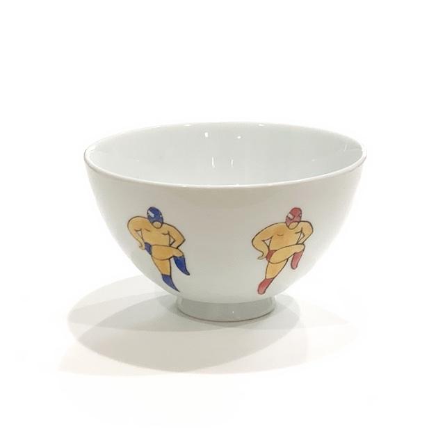 レスラー(ラインダンス)  ご飯茶碗
