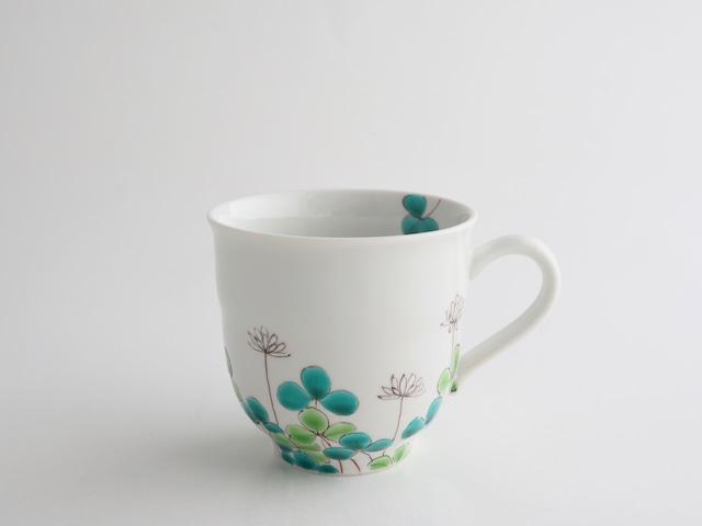 白つめ草 マグカップ(工房直売価格)
