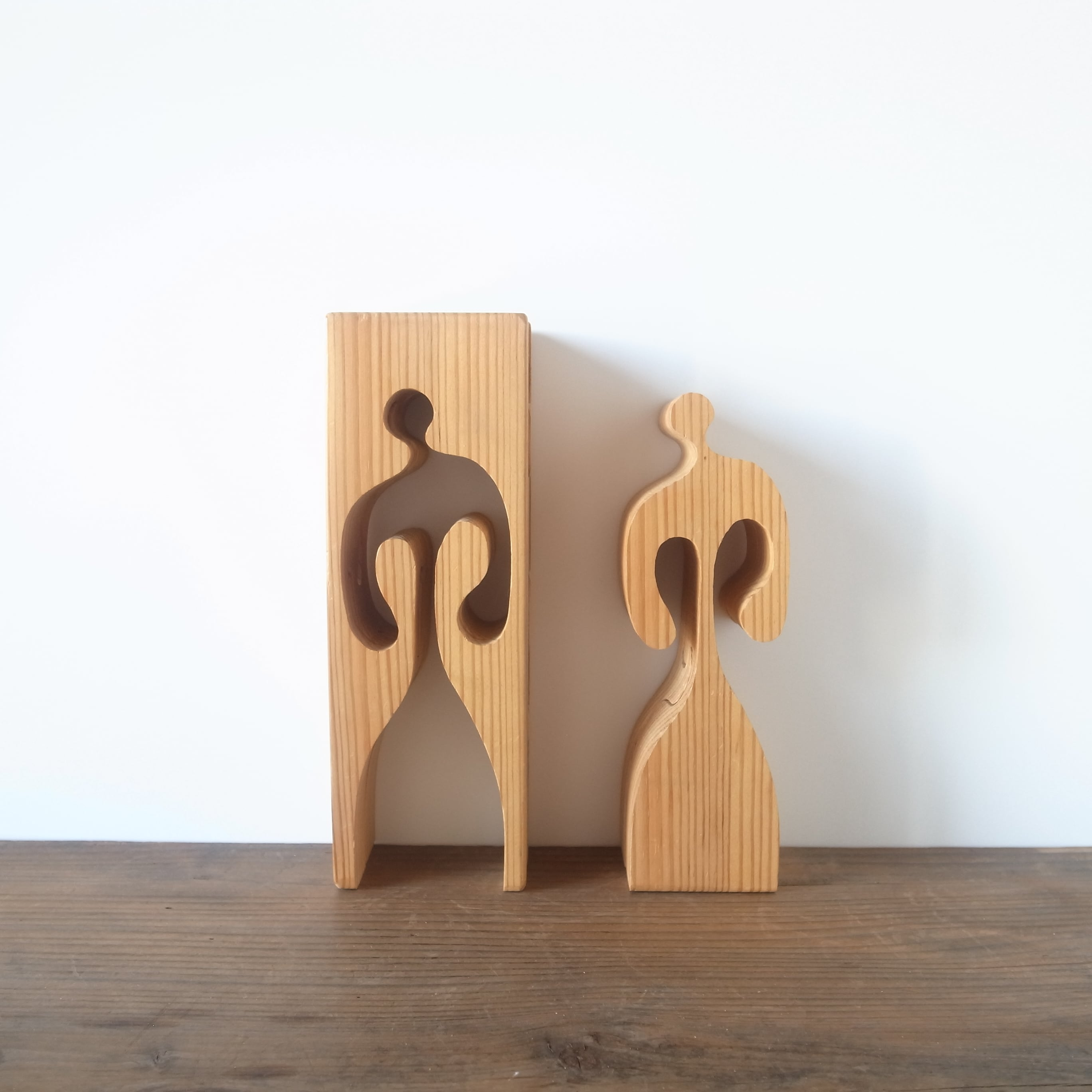 Gunnar Kanevad / Wooden puzzle sculpture