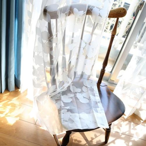 【最短6営業日で出荷】オパールレースカーテン「Dorris ドリス ホワイト」 (幅×丈):100×198cm(2枚組) ac-0083