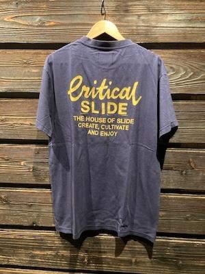 Critical Slide  CREATOR TEE  D.Blue  Lサイズ TE2108