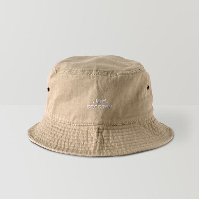 JAM SESSION BUCKET HAT (KHAKI)