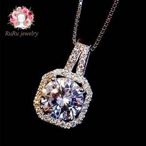 square necklace / silver 925