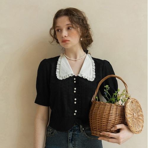 〔Designer+ 〕lace blouse