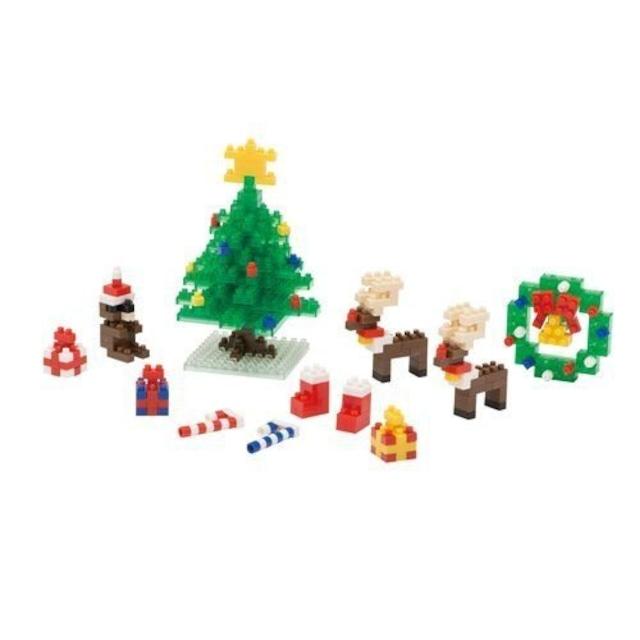 nanoblock ナノブロック クリスマスセット2014