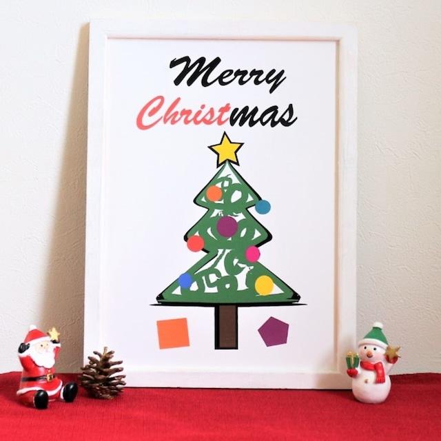 クリスマスポスター インテリアポスターA4サイズ