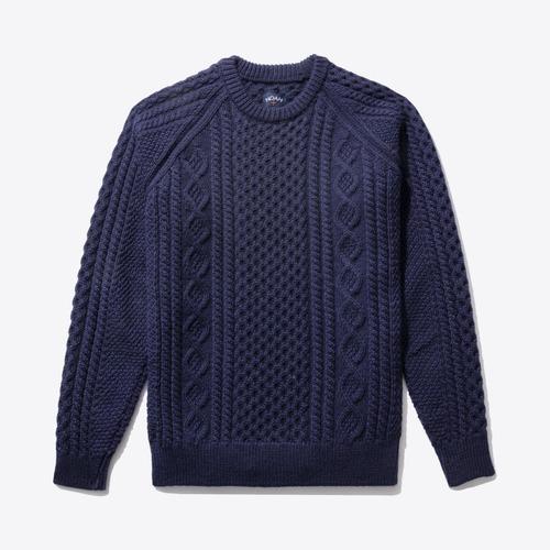 Fisherman Sweater(Midnight Navy)