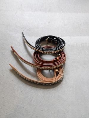 【MASTER&Co×Ordinary fits】single studs belt