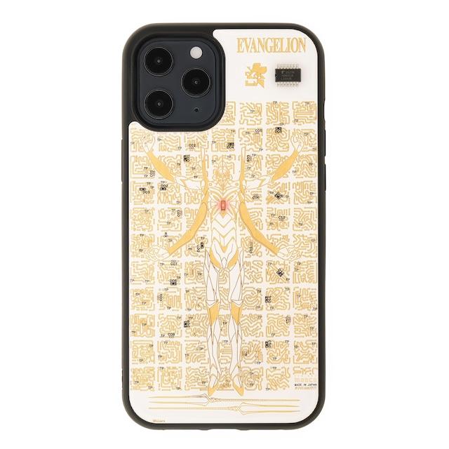 FLASH EVA13 基板アート iPhone 12 Pro Max ケース 白【東京回路線図A5クリアファイルをプレゼント】