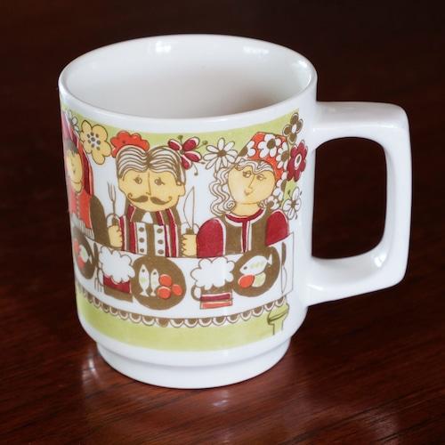 FIGGJO フィッギオ  Folklore マグカップ