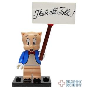 レゴ LEGO ミニフィグ ルーニーチューンズ ポーキー・ピッグ