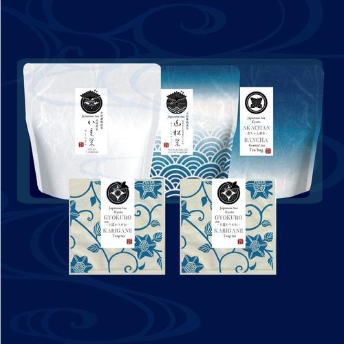 流々亭特選茶(リーフ)シリーズ:【藍を贈る】1700