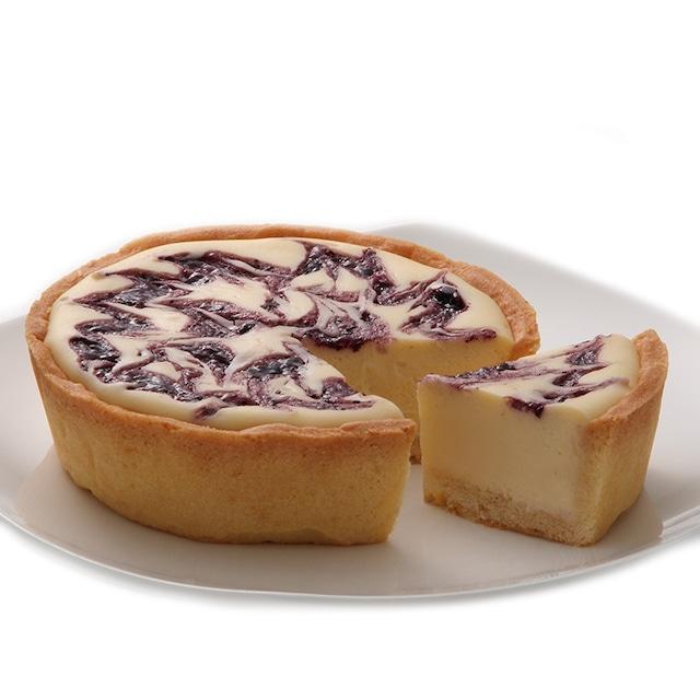 ベイクドレアチーズケーキ(ブルーベリー)