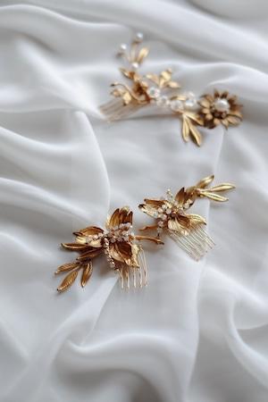 Bridal hairaccessory ・vintage・1001/sale