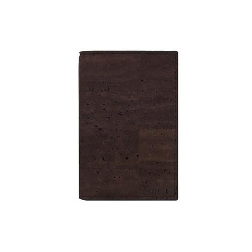 VEGAN BUSINESS CARD HOLDER  BROWN / 名刺入れ 茶 コルク製