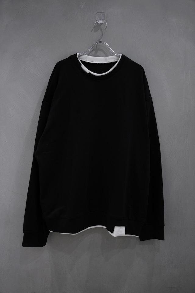 ℃℃℃  monotone long sleeve tee  Black
