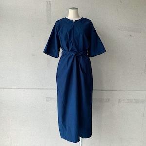 【COSMIC WONDER】Wrapped short sleeves dress /17240-2