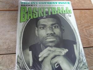 BECKETT BASKETBALL #191 JUNE 2006 レブロン・ジェームズ 表紙