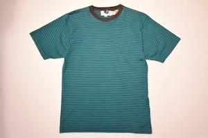 USED 90s Striped T-shirt -Medium 01037