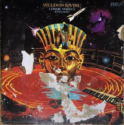 【USED/LP】Weldon Irvine - Cosmic Vortex(Justice Divine)(US ORIGINAL)