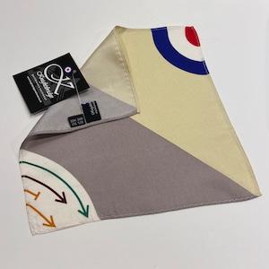 【Knightsbridge】 Silk pocket squares TARGET