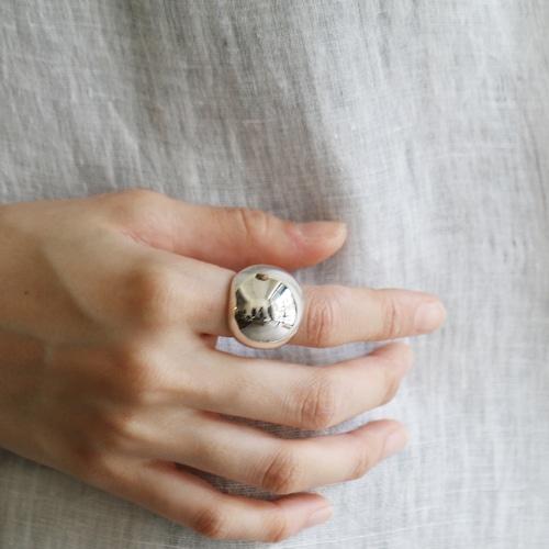 Hi-CORAZON【 womens 】full moon ring
