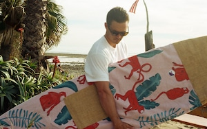 FEDE Pink Jungle Surfbag