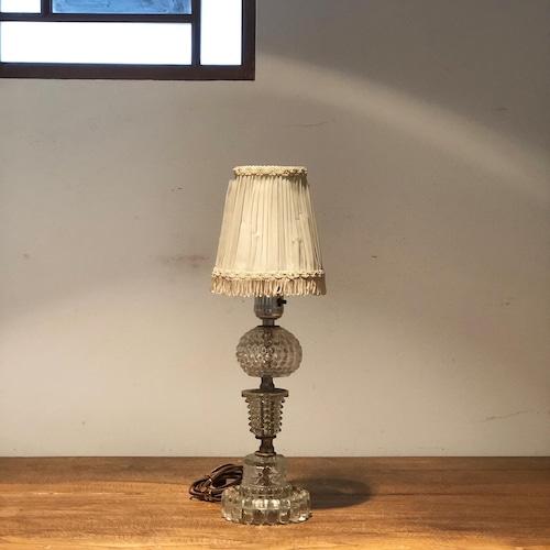ヴィンテージ クリスタルランプ