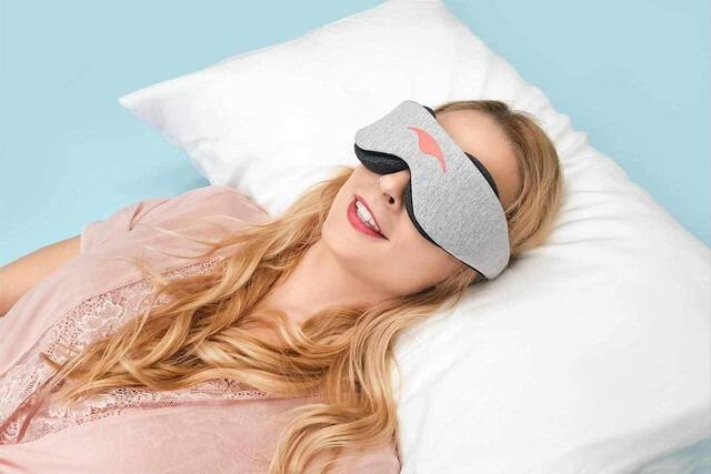 100%遮光を実現 マンタスリープ アイマスク (MantaSleep EyeMask)