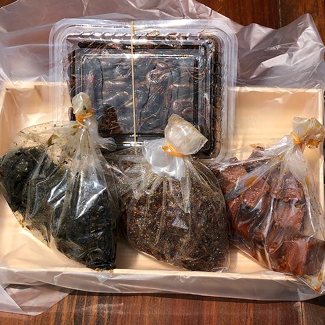 つくだ煮セット4種(袋タイプ、各100g)